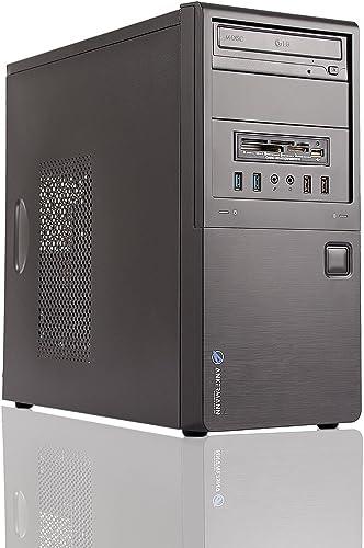 Ankermann Office Work Silent Leise PC Intel i5 4 Core HD Graphic 8GB RAM 480GB SSD Windows 10 Pro