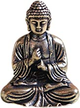 Buddha Statue Chinese Buddhism Sakyamuni Buddha Sculpture Statue Fengshui Ornament Miniature Home Decor
