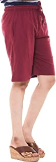 EASY 2 WEAR ® Womens Knitted Shorts (Size S to 4XL) Loose FIT