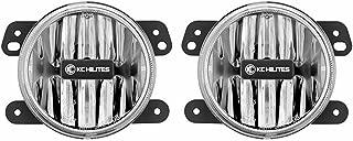 KC HiLiTES 497 Gravity G4 Amber LED Fog Light (SAE/ECE)