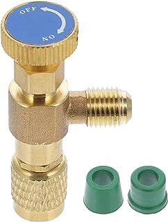 VORCOOL Válvula de Ar Condicionado Válvula de Segurança Válvula de Adição de Flúor Flúor (Azul)