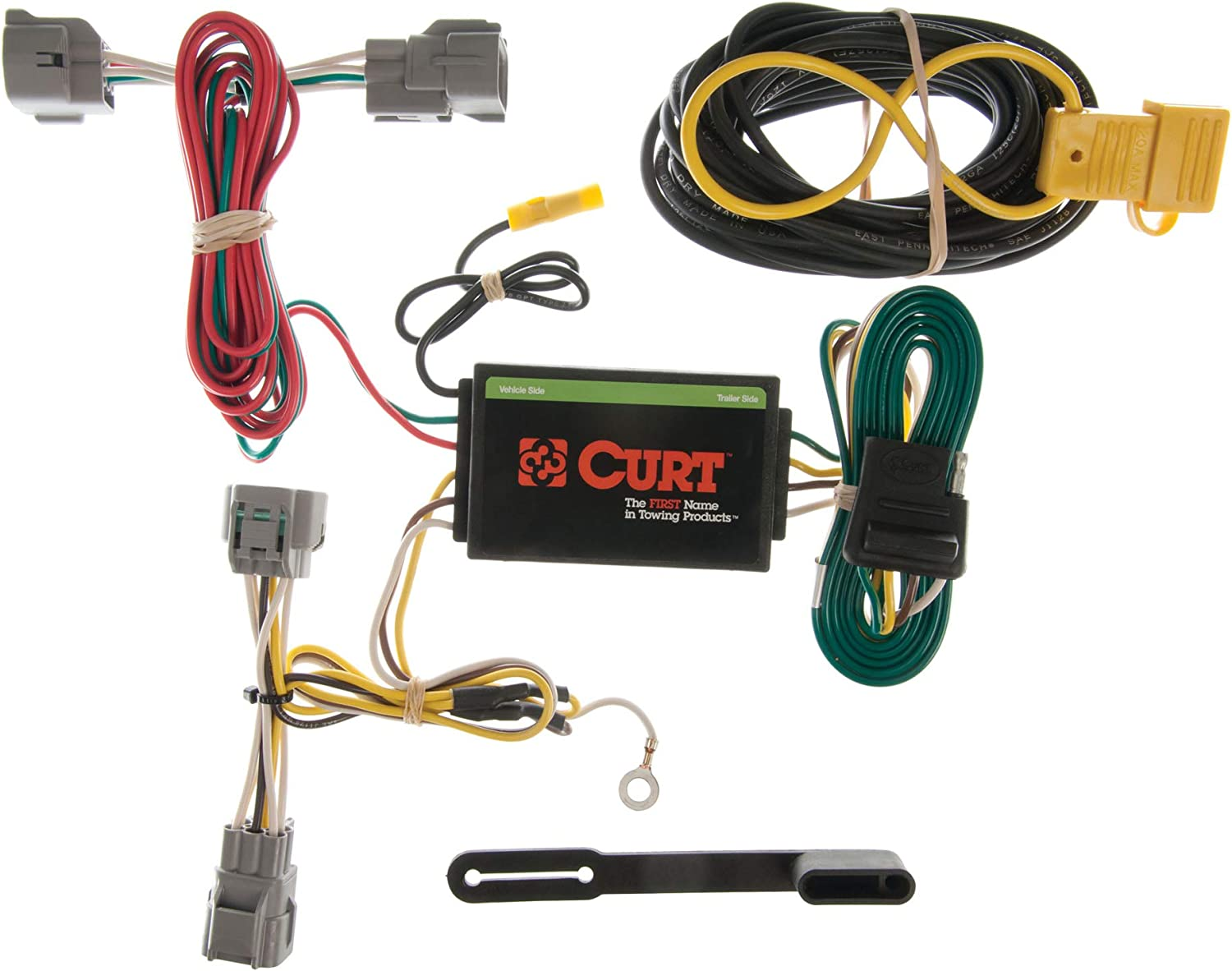 CURT 55349 Vehicle-Side Custom 4-Pin Fit Harness Trailer Wiring Max 85% OFF Large special price
