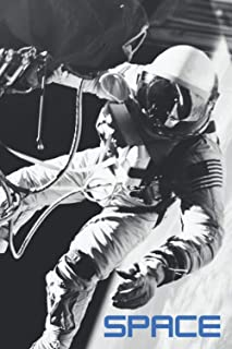 Notebook Space picture cover This is one small step for a man, one giant leap for mankind.– Neil Armstrong: Astronaut Nasa...