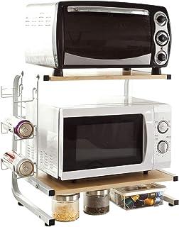 SoBuy FRG092-NSoporte para microondas Estante estantería de Cocina miniestanteES
