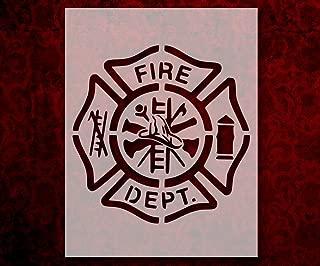 Best fire department stencil Reviews