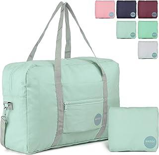 Wandf Foldable Travel Duffel Bag Luggage Sports Gym Water Resistant Nylon 9fb1868bbe787