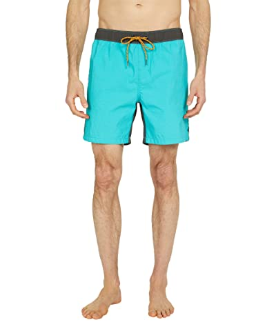 Billabong Currents Layback 17 Boardshorts (Dark Mint) Men