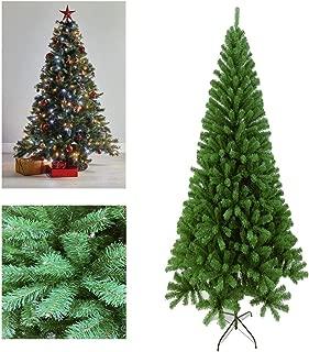 Eleganteasygoing Flocked Christmas Tree 5Ft Christmas Tree Colorado Spruce Metal Stand Xmas Bushy Pine Branches