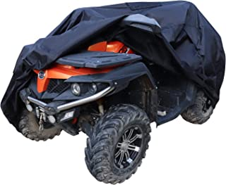 AmazonBasics Weatherproof Premium ATV Cover - 150D Oxford, ATVs up to 85""
