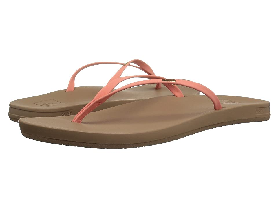 f3fe7fbd47139b Reef Cushion Bounce Slim (Coral) Women s Sandals
