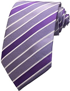 MENDENG Large Striped Yellow Black Red Blue Silk Men Tie Business Party Necktie