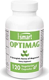 Supersmart - Optimag - Powerful Magnesium Formula - 8 Different Forms of Magnesium for Optimal Assimilation to Fight Magne...