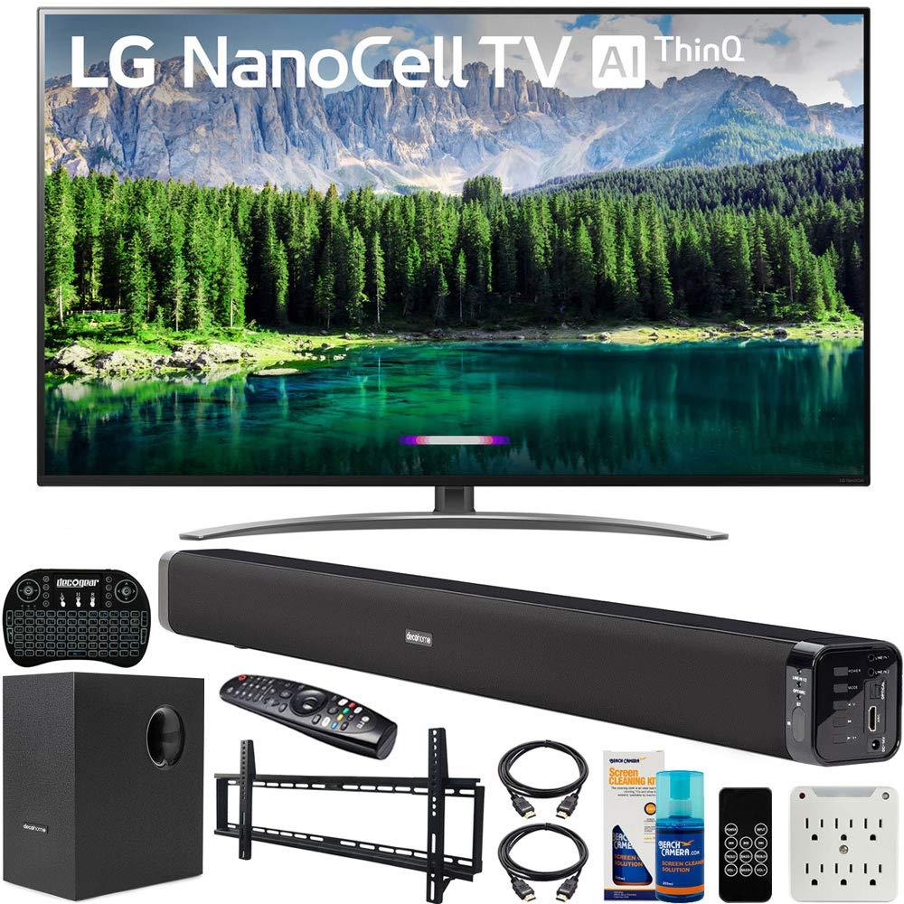 LG 65SM8600PUA NanoCell Soundbar Subwoofer