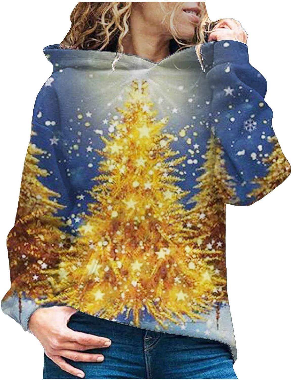 Sweatshirts for Women Industry No. 1 Long Sleeve Casual Hood Drawstring Hoodies Atlanta Mall