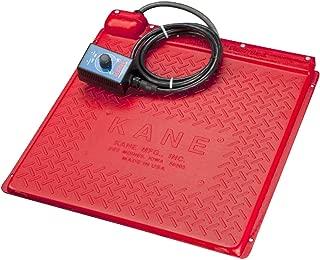 KANE Pet Heat Mat (Heated Pet Pad) 110-120V for Newborn Puppy, Kitten, Hedgehog, Reptiles: Tortoise, Snake (Self Regulated, Rheostat/Thermostat Control), Various Size