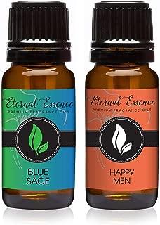 Pair (2) - Blue Sage & Happy Men - Premium Fragrance Oil Pair - 10ML