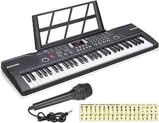 Hricane Kids Piano Keyboard, 61 Keys Beginner Electronic Key