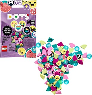 LEGO DOTS Extra DOTS - series 1, DIY Tiles Beads Set, Art and Craft for Kids with 10 Surprise Charms 41908
