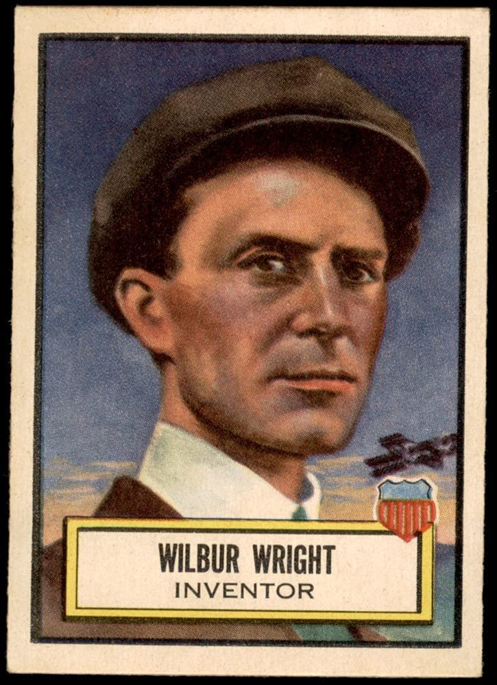 1952 Topps # 13 Wilbur Wright EX Large discharge Large discharge sale sale Card MT+