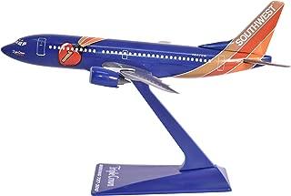 Southwest Triple Crown 737-300 Airplane Miniature Model Plastic Snap Fit 1:400 Part# ABO-73730H-404
