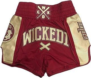 Wicked One Muay Thai /& Kickbox Rowdy Short de Boxe tha/ïlandais pour Homme Noir