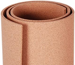 Manton Cork Roll, 100% Natural, 4' x 6' x 3/8