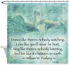 CafePress Dance Like NO ONE is Watching Shower Curtain Decorative Fabric Shower Curtain (69