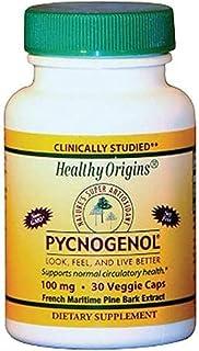 Healthy Origins Pycnogenol - 100 mg - 120 Vegetarian Capsules (30 Capsules)