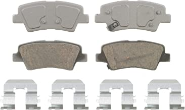 Wagner ThermoQuiet QC1445 Ceramic Disc Pad Set With Installation Hardware, Rear