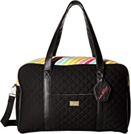 Cruzin Cotton Weekender w/ A Luggage Pass Through On The Back