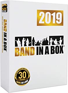 Band-in-a-Box 2019 Pro [Windows USB Flash Drive] - Create your own backing tracks