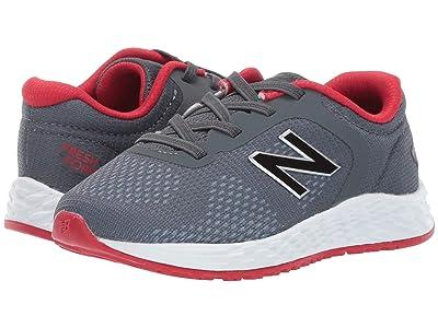 New Balance Kids IAARIv2 (Infant/Toddler) (Gunmetal/Energy Red) Boys Shoes