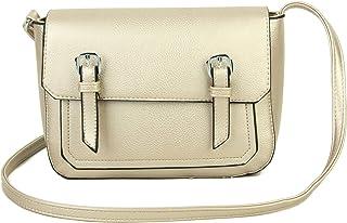 Klassische Umhängetasche aus PU-Leder für Damen und Mädchen, leicht, Umhängetasche, Kuriertasche, Umhängetasche, Handy, es...