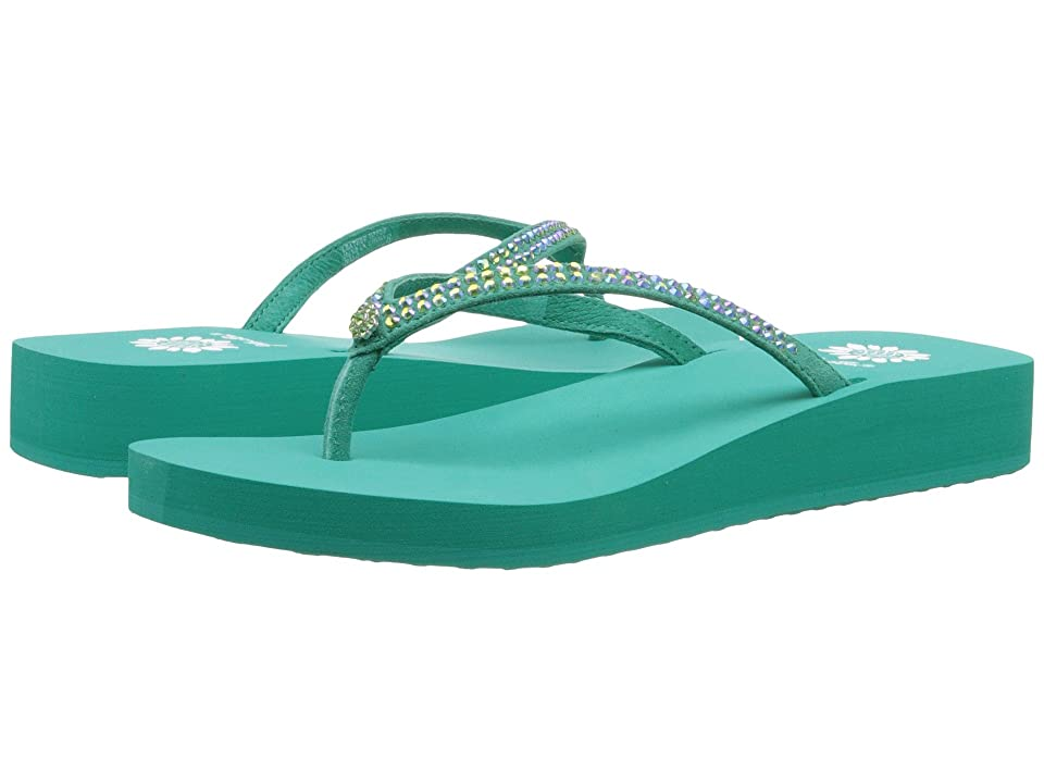 Yellow Box Jello (Teal) Girls Shoes