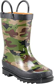 Western Chief Kids Baby Boy's Limited Edition Printed Rain Boots (Toddler/Little Kid)
