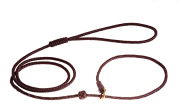 Alvalley Braided Slip Lead with Stop for Dogs 4ft - Thin