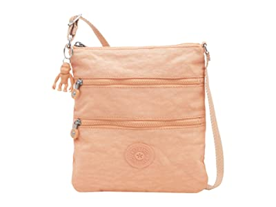 Kipling Keiko Crossbody (Peachy Coral) Cross Body Handbags