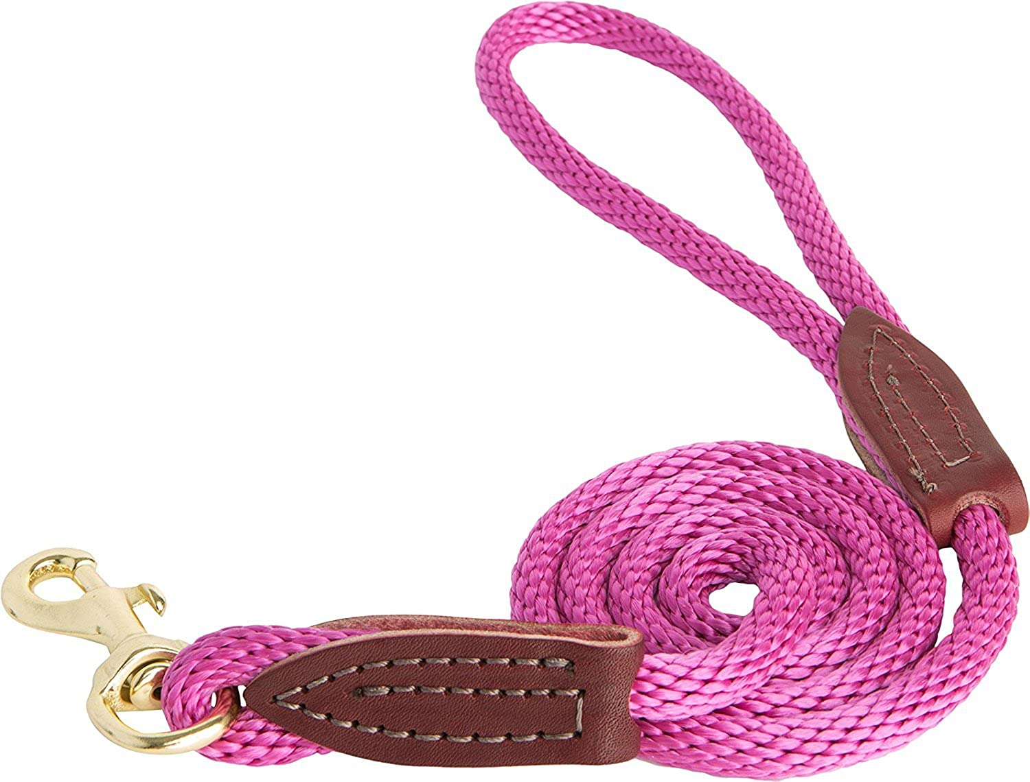 OmniPet 3605103 British Rope Snap Lead for Dogs, 4', Raspberry