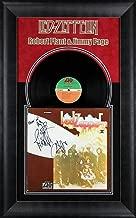 Led Zeppelin (3) Page, Jones & Plant Signed & Framed II Album Cover W/Vinyl BAS - Beckett Authentication