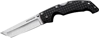Cold Steel Voyager Series Folding Knife with Tri-Ad Lock and Pocket Clip