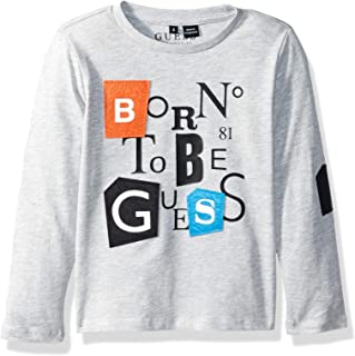 Boys' Little Channing Long Sleeve Graphic T-Shirt
