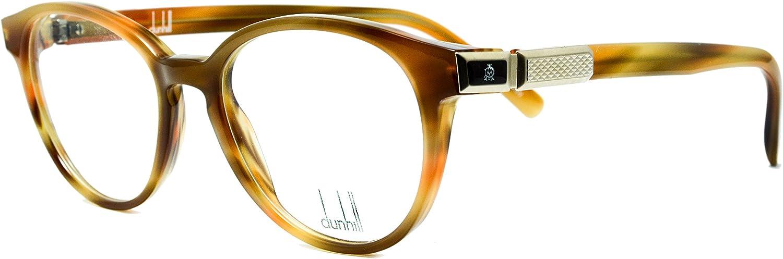 Eyeglasses Dunhill DU4002 A light brown round frame Size 49