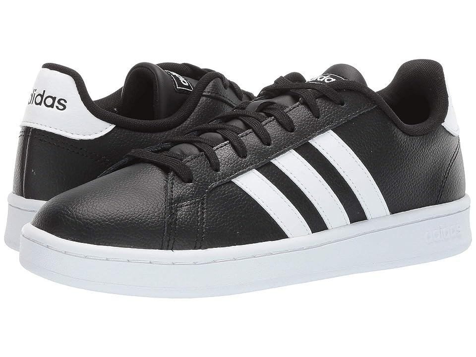 adidas Grand Court (Core Black/Footwear White/Footwear White 1) Men