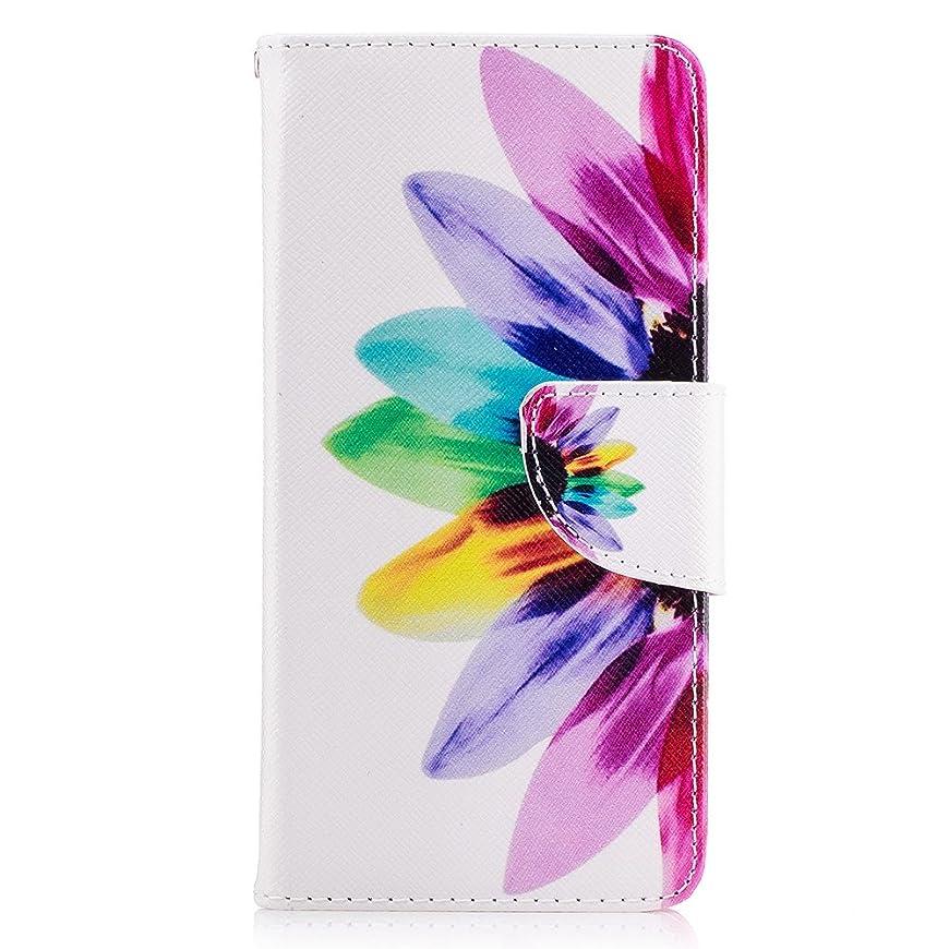 姿を消すマウスぞっとするようなHuawei P9 ケース Huawei P9カバーかわいい ひまわり 花柄 手帳型【VIVINN】両面花柄 PU レザーケース 財布型 カバー耐汚れ 耐衝撃 カラフル スマホケース カード収納 マグネット スタンド機能 おしゃれ 人気 カバー (HUAWEI P9, C-ひまわり)