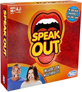 Hasbro Speak Out Game - 16 Years & Above
