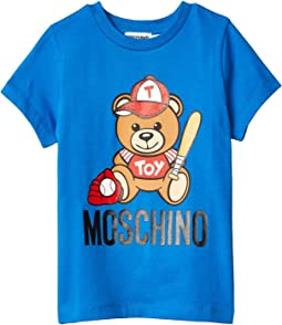 Short Sleeve Baseball Bear Tee (Little Kids/Big Kids)