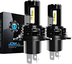 JDM ASTAR 12000 Lumens Extremely Bright 1:1 Design H4 9003 All-in-One LED Headlight Bulbs/Fog Lights/DRL, Xenon White (H4/9003)