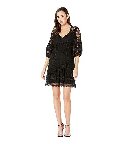 Nanette Lepore Romantic Dress (Black) Women