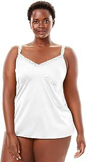 1bcf4451937 Comfort Choice Women s Plus Size Lace Trim Camisole