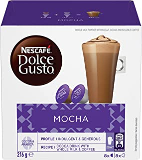 NESCAFÉ DOLCE GUSTO Mocha Coffee Capsules Box of 8 servings